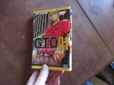 MANGA BD GTO GREAT TEACHER ONIZUKA tome 01 toru fujisawa  pika