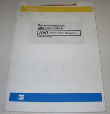 Werkstatthandbuch Seat Alhambra Radio Telefon Navigation Navi ab Baujahr 1996!