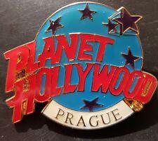 Planet Hollywood Pin / Badge Prague Classic Light Blue Globe Logo