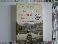 Behind the Beautiful Forevers by Katherine Boo Signed Copy