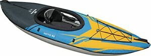 AQUAGLIDE Noyo 90 Inflatable Kayak - 1 Person Touring Kayak with Cover