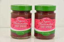 2 Trader Joe's Organic Watermelon Fruit Spread 10 oz Jar - Qty 2 - Seasonal