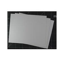 Modellbau Plastik-Karte Plasticard 0.75mm weiss (2) Kromlech KRMA030