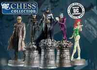EAGLEMOSS-DC-SUPERHERO-CHESS-FIGURES-SPECIALS-MAGAZINES SET ONE