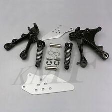For Kawasaki Ninja ZX10R 2006-2010 07 08 09 Front Footrest Foot Pegs Bracket Set