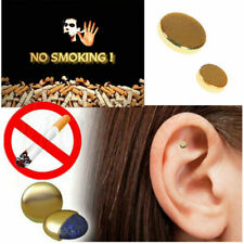 2X Quit Smoking Stop Smoke Ear Auricular Magnet Therapy Acupressure Healthy Care