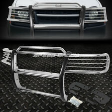 FOR 02-04 NISSAN XTERRA WD22 SUV CHROME STAINLESS STEEL FRONT BUMPER GRILL GUARD