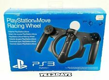 OFFICIAL SONY PLAYSTATION 3 PS3 Move Racing Steering Wheel - New Sealed!