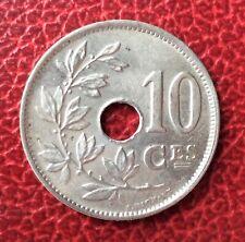 Belgique - Albert Ier - Magnifique monnaie de 10 centimes 1921 Fr