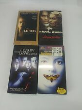 Vhs Horror 4 Movie Lot . Silence of the Lambs Sealed . Horror Suspense