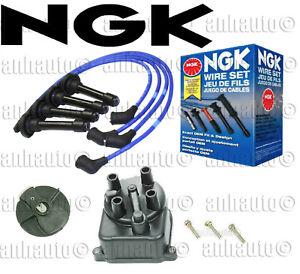 Acura  Integra  B18B1 NGK Blue Tune-Up Kit Cap Rotor Spark Plugs Wire Set Kit