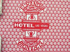 The EL RANCHO Hotel & Casino Playing Cards Las Vegas NV Nevada Gemaco