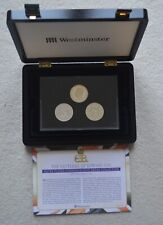 More details for the patterns of edward viii silver plated commemorative medal collection