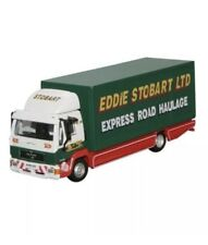 BNIB OO GAUGE OXFORD 1:76 (STOB018) EDDIE STOBART MAN L2000 BOX VAN