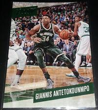 Giannis Antetokounmpo 2017-18 Panini Prestige Base Card (no.2)