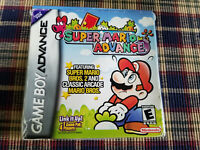 Super Mario Advance - Authentic - Game Boy Advance - GBA - Box Only!