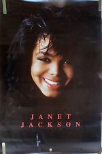 Rare Janet Jackson 1990 Vintage Original Music Poster