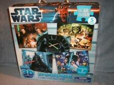 Star Wars Super 3D Puzzle 5 Pack Luke Vader Han Leia 3 x 48 pcs 2 x 150 pcs used
