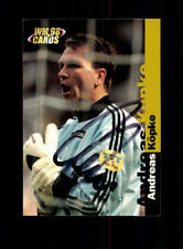 Andreas Köpke  Deutschland Panini Card WM 1998 Original Signiert+ A 182306