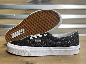Vans Era Confetti Shoes Black True White Womens SZ 7 ( VN0A4U392NA )