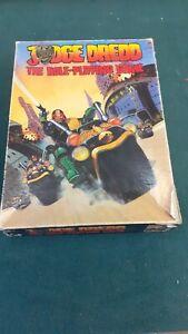 Judge Dredd The Role Playing Game 1985 Uncut Box Set Games Workshop 2000AD RPG
