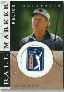 2021 UPPER DECK artifacts golf ball marker relics jack nicklaus