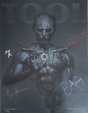 tool poster signed