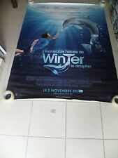 AFFICHE DOLPHIN TALE 4x6 ft Bus Shelter D/S Movie Poster Original 2011