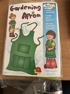 Childrens Gardening Apron - Young Gardener