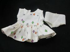 Vintage Tiny Terri Lee Doll Taggedl Dress and Tagged Panties