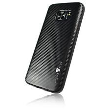 PULSARplus® Samsung Galaxy S7 Hülle Handy Carbon Case Schutzhülle Cover Schwarz