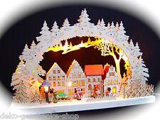 3d LED ARCOS DE LUCES arbotantes 3 Niños Invierno + LINTERNA 43 x 30cm 10023