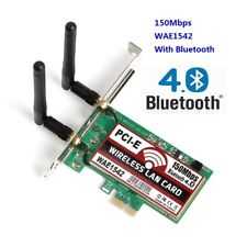 150M Wireless PCI-E PCI Express Card Bluetooth 4.0 WIFI Network LAN Ethernet