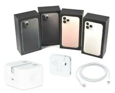 Genuine Apple iPhone 11 Pro & 11 Pro Max Empty UK Box - With/Without Accessories