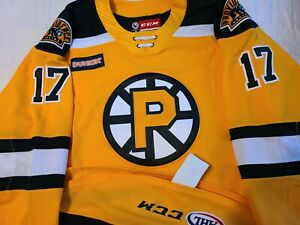 Axel Andersson 2019-20 Providence Bruins AHL Hockey Authentic Game Jersey