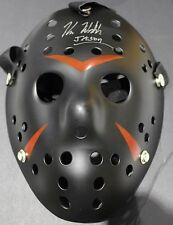 BLACK FRIDAY THE 13TH JASON VOORHEES MASK - SIGNED BY KANE HODDER WITH COA