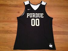 New Nike Purdue Boilermakers Men's L Basketball Reversible Practice Jersey