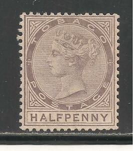 Tobago #8 (A2) (SG #8) VF MINT NG - 1880 1/2p Victoria - SCV $77.50