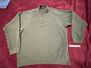 Tommy Bahama PULLOVER SWEATER - Mens Size: XL - EXTRA LARGE - GREEN