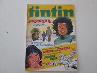 JOURNAL DE TINTIN N°45  TBE 32EME ANNEE COUVERTURE JONATHAN