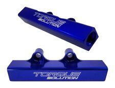 Torque Solution Top Feed Fuel Rails (Blue) Fits WRX 02-14/STI 07-18/LGT 07-12