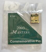 2003 Masters golf pin commemorative mike weir wins augusta national pga