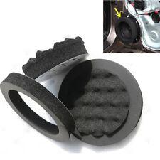 "4x Universal 6.5"" Car Door Speaker Adapter Ring Woofer Foam Pad Sound Noise Wave"