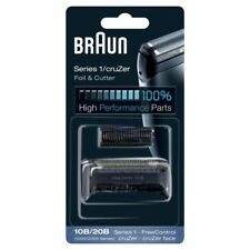 Braun 10B/20B Recambio para afeitadora eléctrica, compatible Series 1 y cru