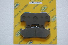 REAR BRAKE PADS fits HONDA CBR 1000 F Hurricane, 87-88 CBR1000F