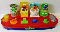 Vintage Sesame Street Workshop Mattel Inc Pop Up Singing Characters