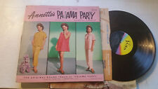 ANNETTE'S PAJAMA PARTY ANNETTE FUNICELLO DOROTHY LAMOUR '64 DISNEY mono 3325 lp!