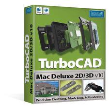 AVANQUEST IMSI TurboCAD Mac Deluxe 2D/3D V10 Download CAD software LATEST