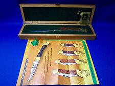 Puma Vintage 970 Game Warden geschnitzt (Hand geschnitzt) 1977 extrem selten!