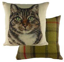 """Waggydogz Tabby Cat Cushion Cover 17"""" NEW  24977"""